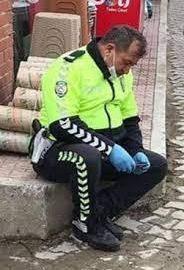 Polis Evinde baba hastanede doktor yolda arkadaş